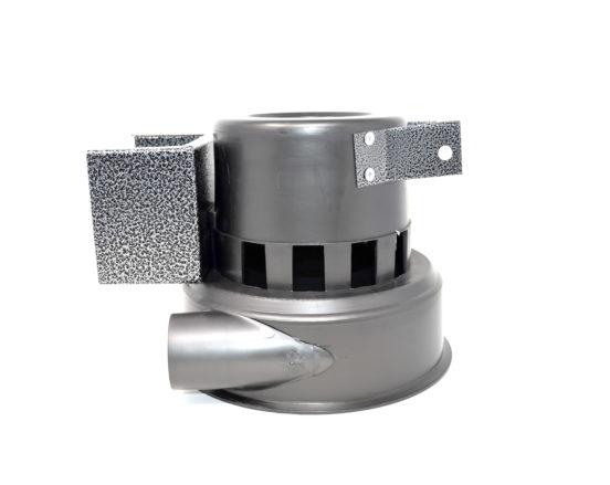 Motor housing assembly for CVS-11, CVS-16, CVS-19, CVS-211, CVS-216, and CVS-219 central vacuum systems