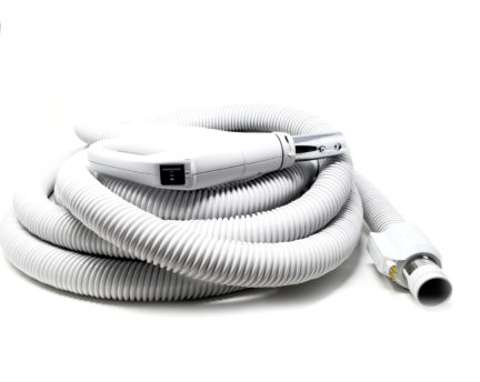 35 foot dual voltage central vacuum replacement hose
