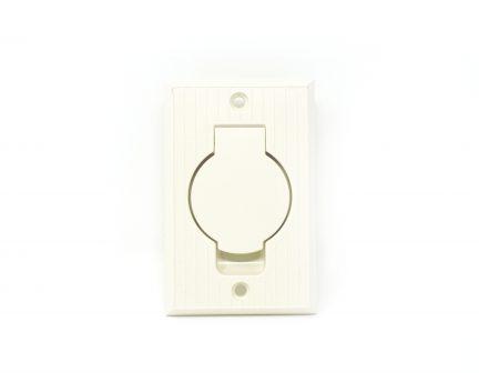 Almond round door inlet valve for low voltage units