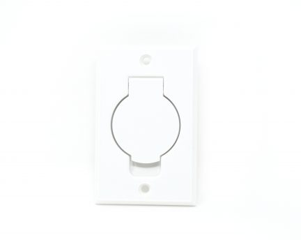 White round door inlet valve for low voltage units