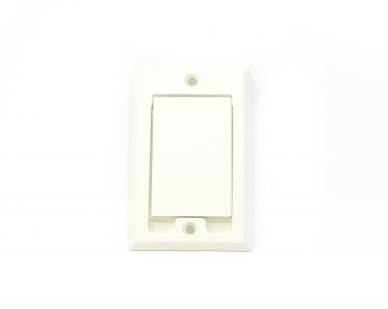 Almond square door inlet valve for low voltage units