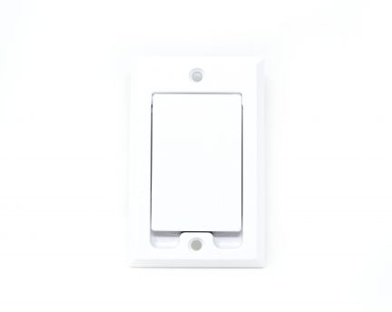White square door inlet valve for low voltage units
