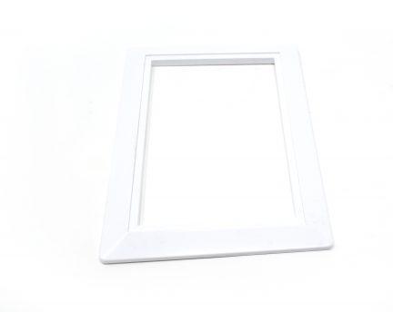 White inlet valve trim plate