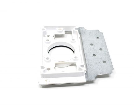 2x3 Wall mounting bracket for all low-voltage Central Vac units