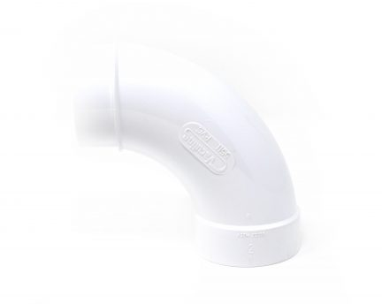 90 degree PVC elbow for your central vac system installation