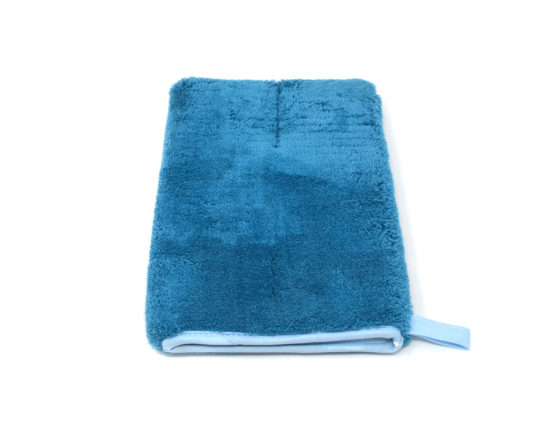 9.5 inch microfiber mitt for multipurpose surface cleaning