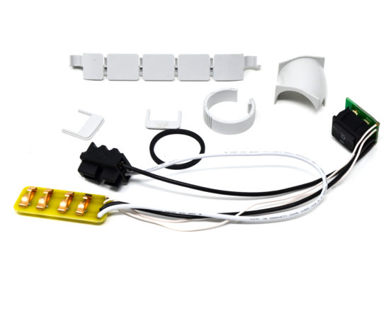 3 position switch assembly electrical repair kit for dual voltage hoses