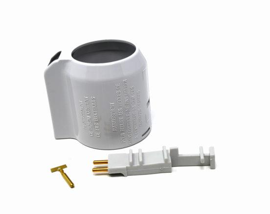 Dual voltage hose wall end repair kit