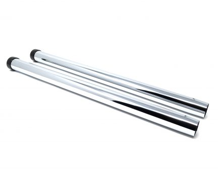 2 piece friction fit 19 inch long metal wands