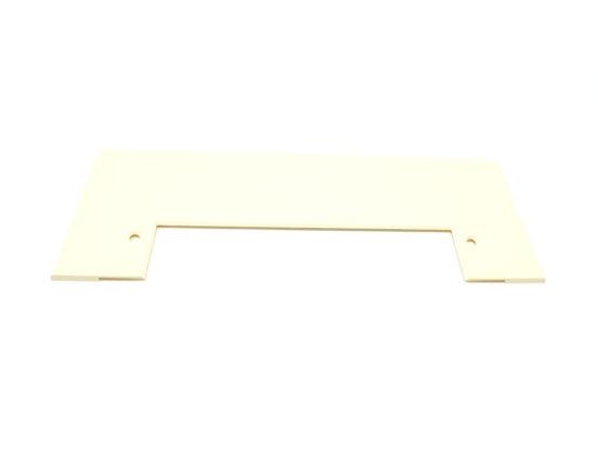 Almond VacPan trim plate