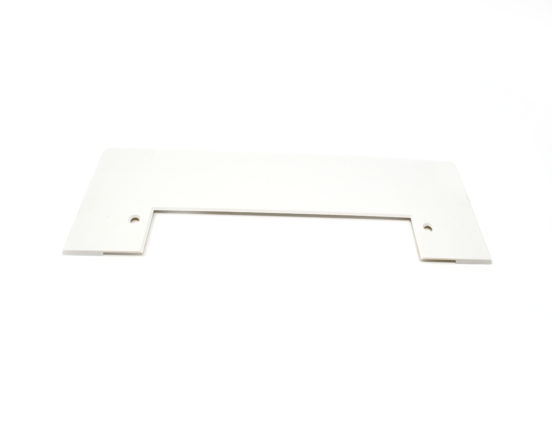 White trim plate for VacPan for easier floor cleaning