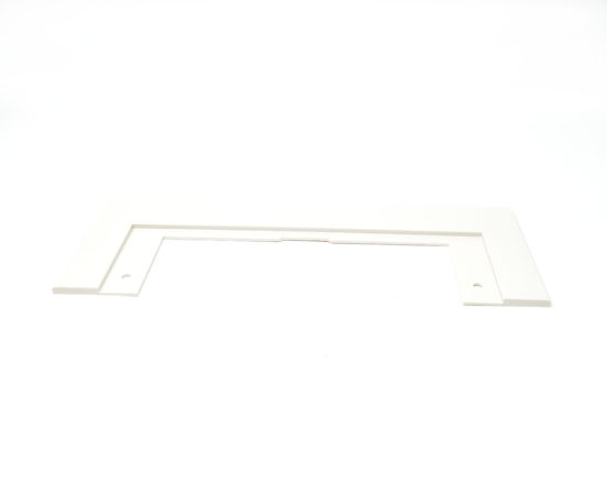 White VacuSweep trim plate