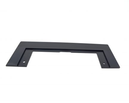 Black VacuSweep trim plate