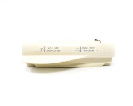 Almond VacuSweep dustpan for easy removal of swept dirt