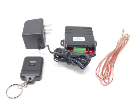 RF Control Kit for low voltage power unit with key fob button