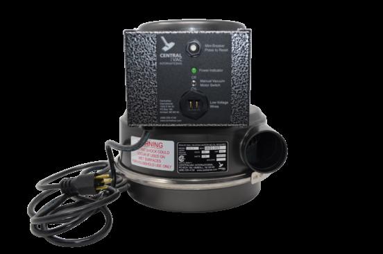 Full home central vacuum motor