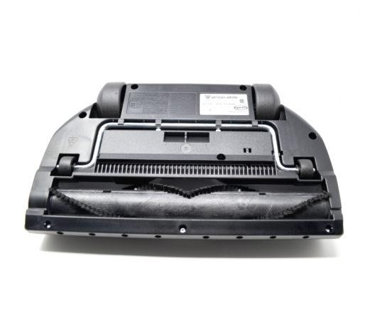 Belt for carpet cleaner vacuum attachment bottom side